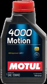 4000 Motion 15W40