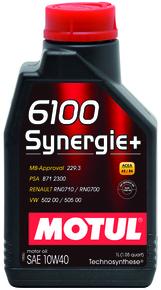 6100 synergie  10w40 1l hd