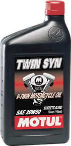 Twin syn 20w50 quart