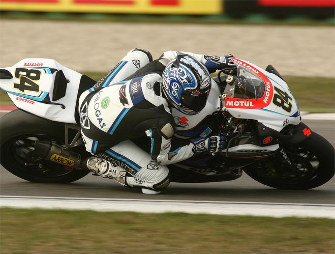 Michel Fabrizio fights to fifth at Assen