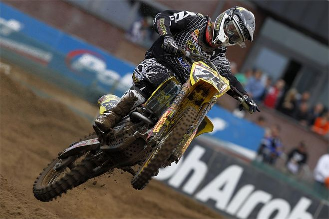 Clément Desalle finishes in second