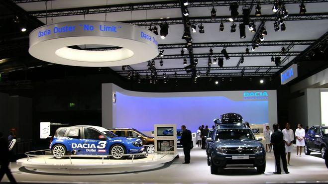 Motul's racecars at the Frankfurt show!