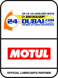 Motul looks forward to a feast of Endurance racing at the 24H of Dubai 2012