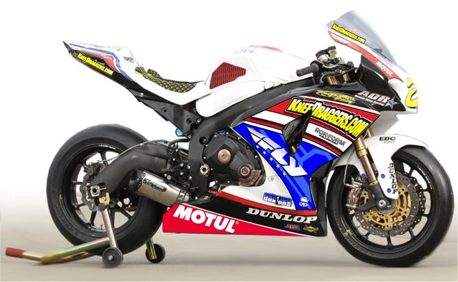 Motul partners with ADR(Aussie Dave Racing) for the 2012 AMA Pro Road Racing Series.