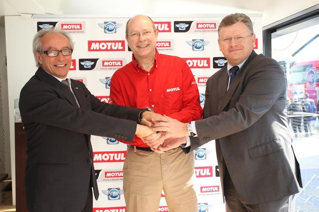 Motul Named Official Lubricant Partner for the FIM