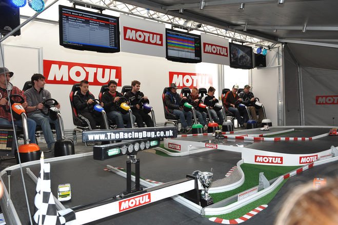 Motul very much present at this fiercely fought Grand Prix