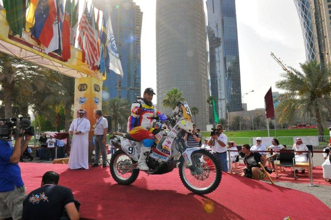 Team Rally Venezuela withstands the heat and fatigue