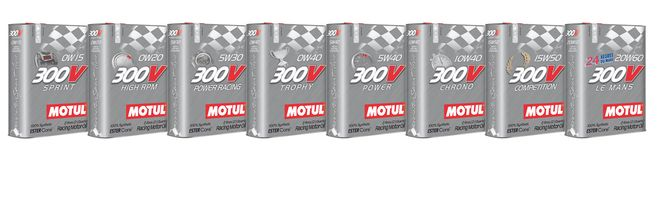 Motul® Launches the Latest Evolution of its 300V Racing Oil