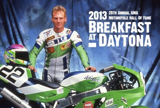 'Mr. Daytona' Scott Russell to headline AMA Motorcycle Hall of Fame Breakfast at Daytona, presented by Motul, during Bike Week