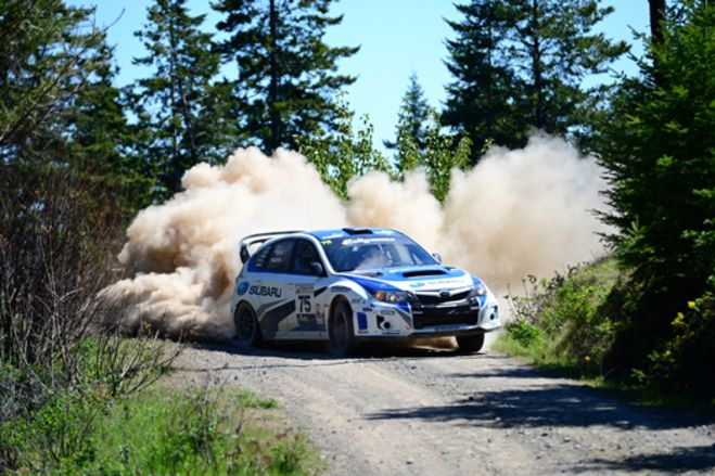 David Higgins Wins the Oregon Trail Rally for the Third Straight Year