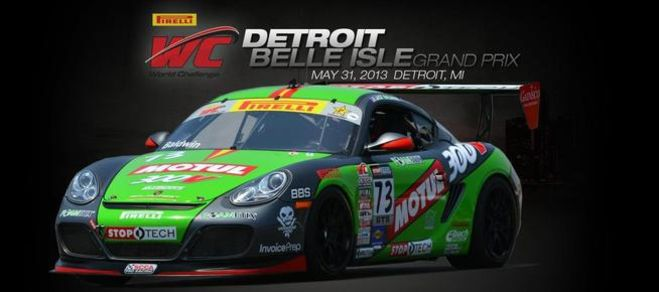 Pirelli World Challenge GTS Points Leader Jack Baldwin Heads to Detroit, Locked and Loaded for Motown Madness on the Streets of Belle Isle