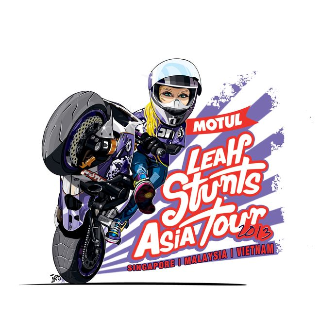 MOTUL Presents Leah Stunts Asia Tour 2013