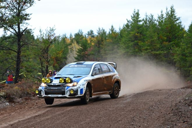 DAVID HIGGINS AND SUBARU RALLY TEAM USA WIN THE 2013 RALLY AMERICA NATIONAL CHAMPIONSHIP WITH VICTORY AT THE LAKE SUPERIOR PERFORMANCE RALLY