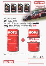 Získejte olej řady 8100 za polovinu!
