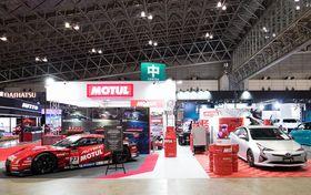 Motulが東京オートサロンに初出展!