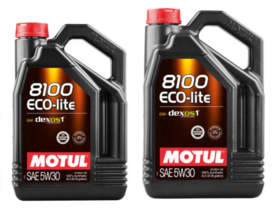 Motul upgrades its 8100 ECO-LITE 5W-30 engine lubricant