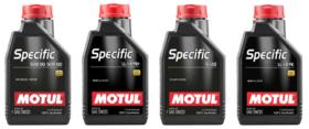 Čtyři nové produkty řady Motul Specific