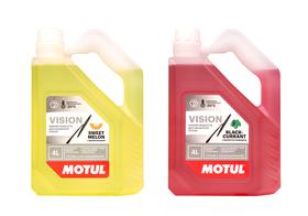 Новинка Motul: Vision Black Currant-20°C и Vision Sweet Melon -20°C — зимние жидкости для омывателя стекла уже в продаже!