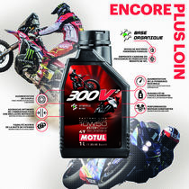 Motul goes a step beyond at EICMA and presents a new racing oil: Motul 300V²  10W50