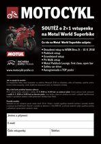 Vyhrajte lístky na závody World Superbike v Brně!