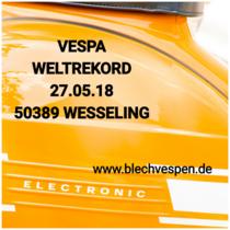 Motul unterstützt Vespa-Weltrekord für den guten Zweck