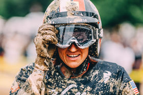 Wheels and Waves: A wave of mud ,oil and leather.