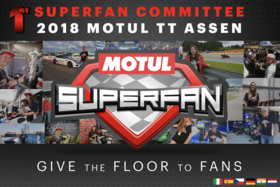 MOTOGP ™ ГОТОВ К КОМИТЕТУ MOTUL SUPERFAN НА MOTUL TT ASSEN