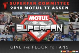 MOTOGP™ heißt das MOTUL SUPERFAN COMMITTEE auf dem MOTUL TT ASSEN willkommen