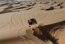 Bereit für die Rallye Dakar