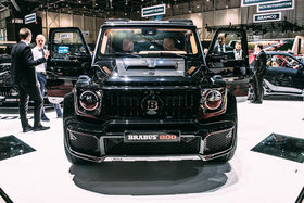 Brabus, converting Mercedes-Benz cars to a higher level