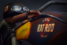 THE COOLEST E-BIKES YOU'LL EVER SEE. INTRODUCING THE RAT ROD E-BIKES