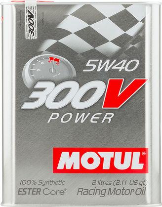 Motul 104242 300v power 5w40 2l