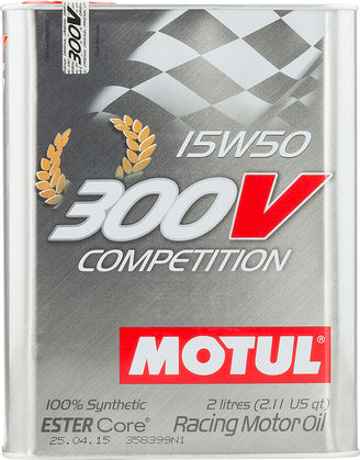 Motul 104244 300v competition 15w50 2l