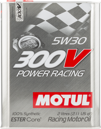 Motul 104241 300v power racing 5w30 2l