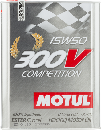 Motul 104244 300v competition 15w50 2l