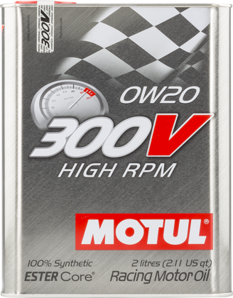 Motul 104239 300v high rpm 0w20 2l