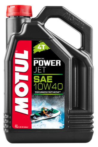 Motul 105874 power jet 10w40 4t 4l