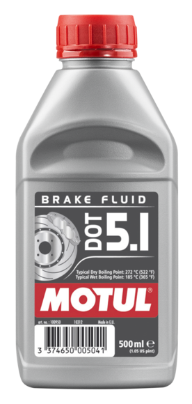 Motul 100950 dot 5.1 brake fluid 500ml
