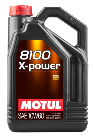 Motul 106144 8100 x power 10w60 5