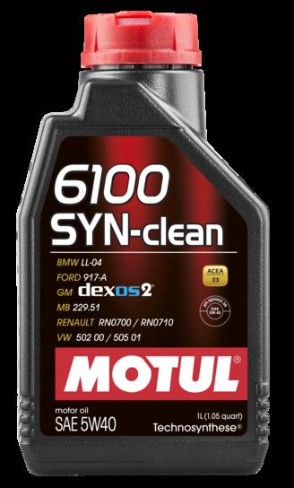 6100 syn clean 5w40 1l