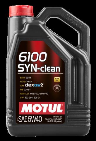 6100 syn clean 5w40 5l