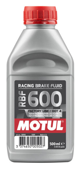Motul 100948 rbf 600 racing brake fluid 500ml