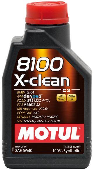 8100 x clean 5w40 1l