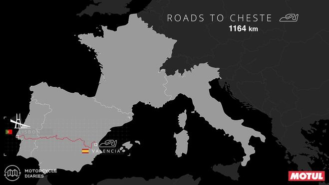 Lisbon to #ValenciaGP MotoGP