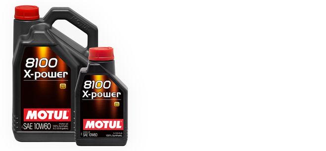 Υψηλη αποδοση εκει που χρειαζεται:                        MOTUL 8100 X-Power 10W60
