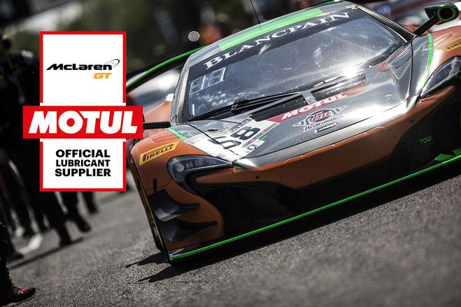 Motul zacieśnia współpracę z McLaren GT