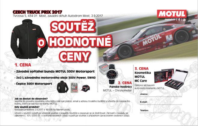 Motul na European Truck Racing Championship v Mostě