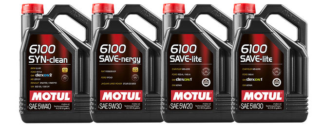 Моторное масло Motul 6100 SYN-clean 5w40 1 л - фото 10