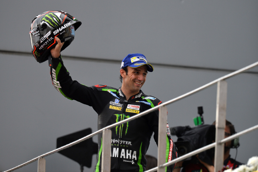 Motul rider Johann Zarco has continued his fine form by finishing third at the Sepang circuit days after being named MotoGP Rookie of the Year for 2017​.