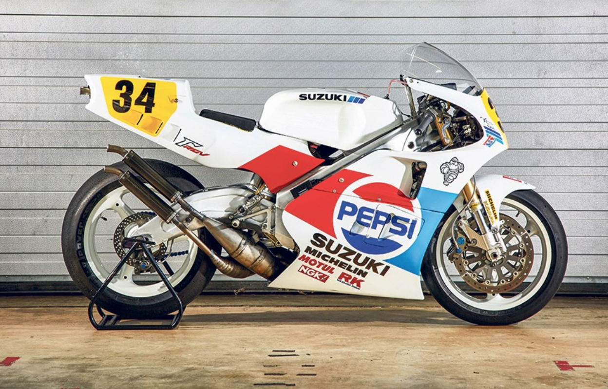 SCHWANTZ RGV500 TO BE RESTORED AT MOTORCYCLE LIVE